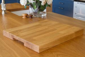 oak 40mm chopping board