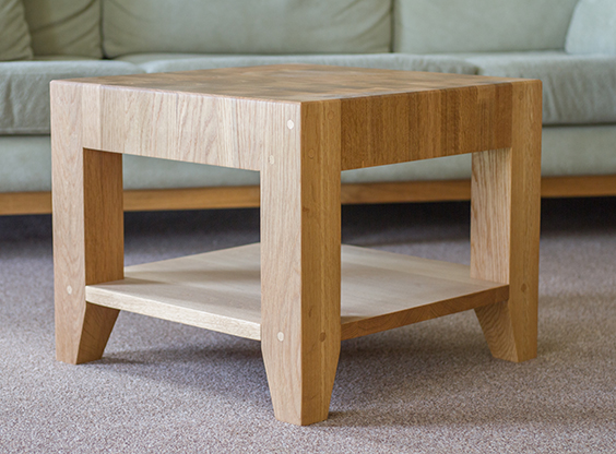 End Grain Coffee Table.Bespoke End Grain Coffee Tables Norfolk Oak