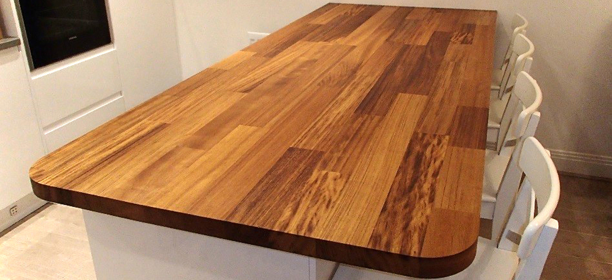 Iroko Worktops Norfolk Oak