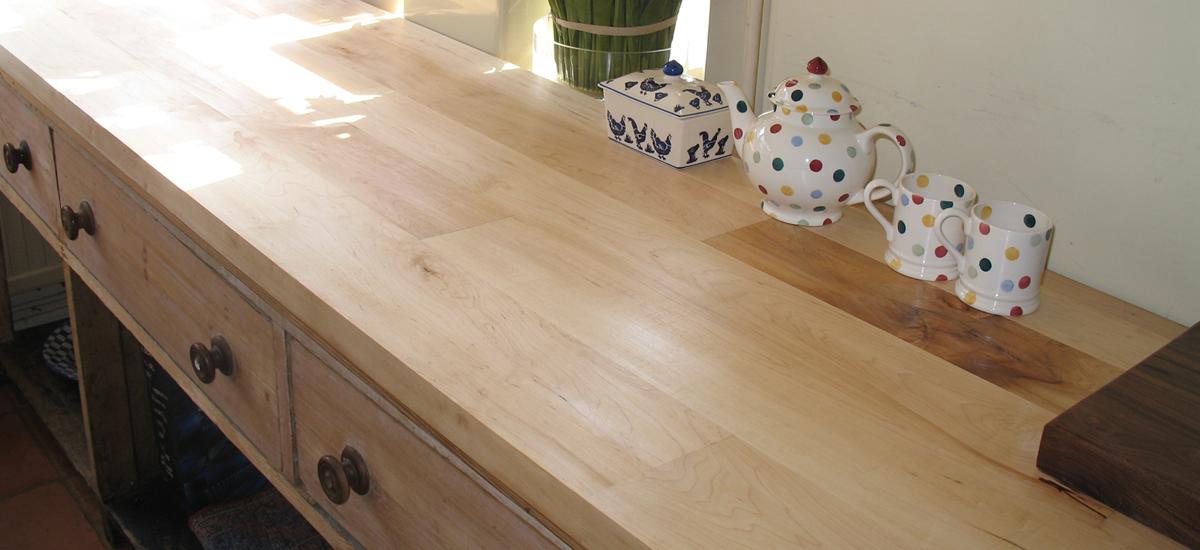 Maple Worktops Light Wood Kitchen Worktops Norfolk Oak