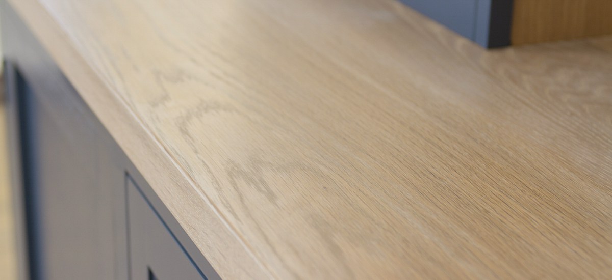 Whitewash Oak Super Stave Worktops
